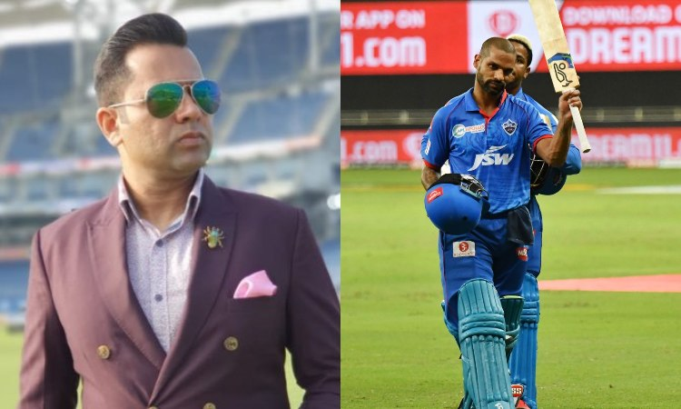 IPL 2020 KXIP vs DC Aakash Chopra reveals the name who picked Shikhar Dhawan man of the match in hin