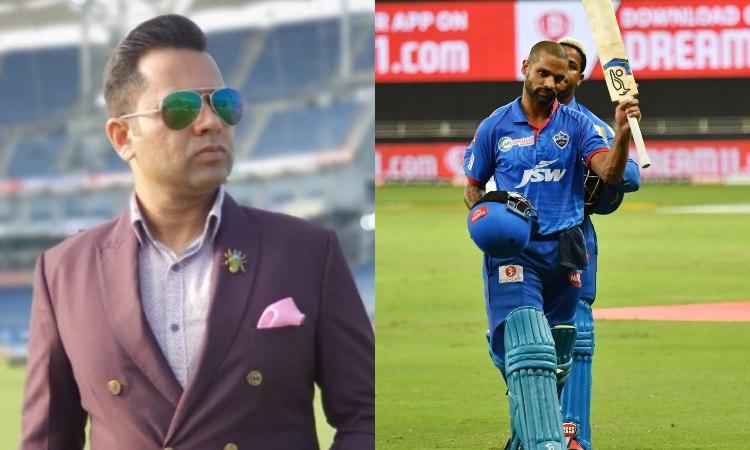 IPL 2020 KXIP vs DC Aakash Chopra reveals the name who picked Shikhar Dhawan man of the match in hin