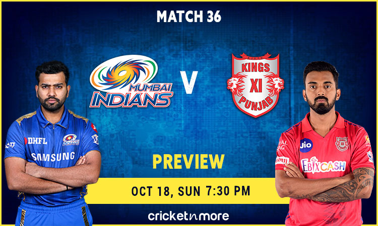 IPL 2020 Mumbai Indians VS Kings XI Punjab – Fantasy Cricket Tips, Prediction & Pitch Report