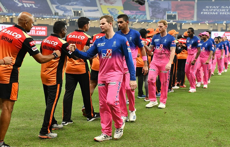 IPL 2020 RR vs SRH Rajasthan Royals and Sunrisers Hyderabad were involved in a hilarious twitter ban