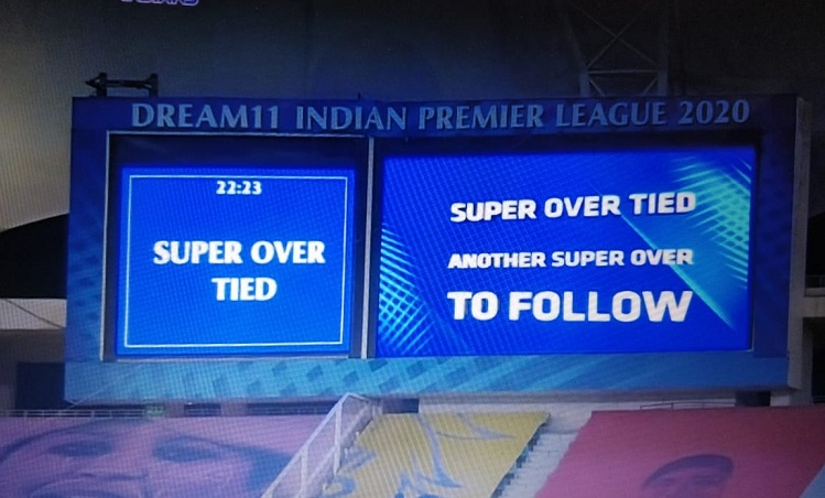 total of 13 IPL games have gone into the Super Over