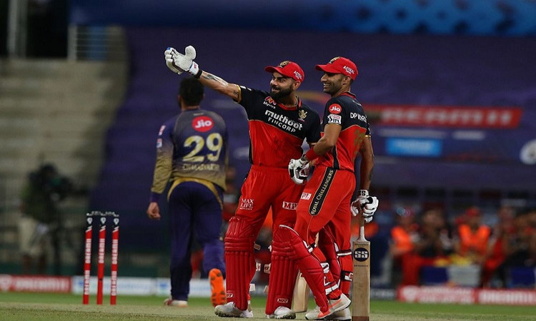 IPL T20 Points Table After Bangalore's 8 Wicket Win Over Kolkata