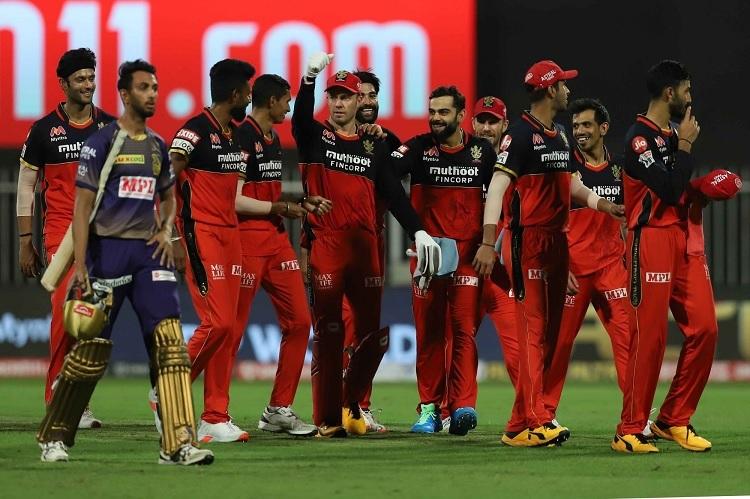 IPL T20 Points Table After Bangalore's 82 Run Win Over Kolkata
