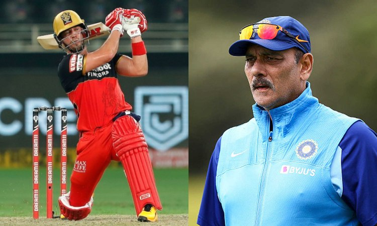 India head coach Ravi Shastri wants RCB batsman AB de Villiers to step out of retirement in hindi