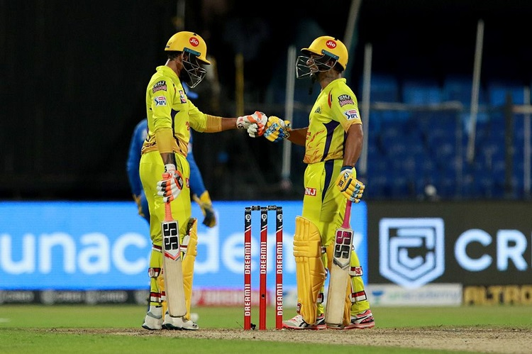 IPL 2020: Jadeja, Rayudu Take CSK To 179/4