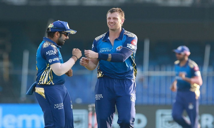 James Pattinson and Rohit Sharma