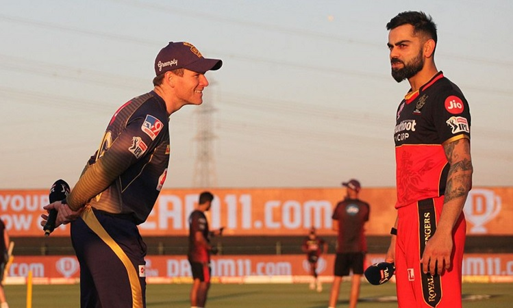 KKR opt to bat first against RCB, Check Playing XI