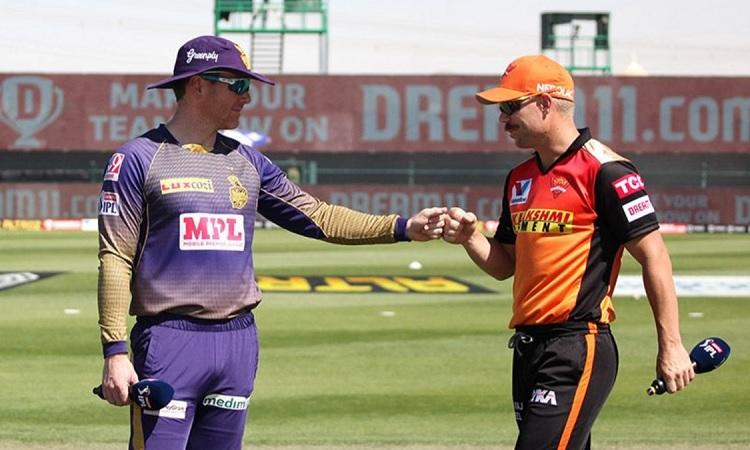 SunRisers Hyderabad elect to bowl against KKR