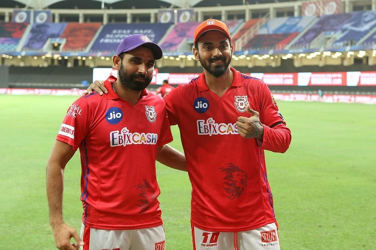 KL Rahul and Mohammad Shami