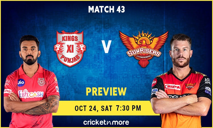Kings XI Punjab vs Sunrisers Hyderabad Preview and Probable XI
