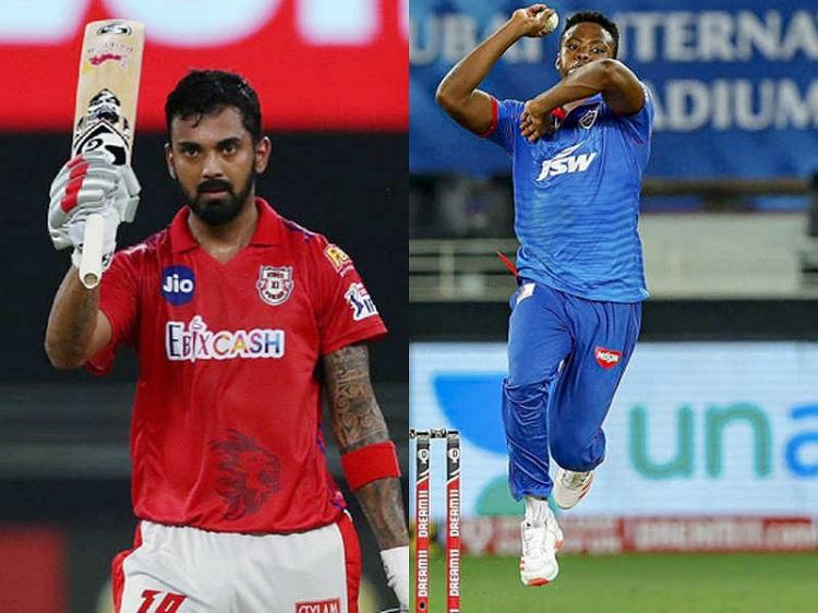 Kl Rahul and Rabada