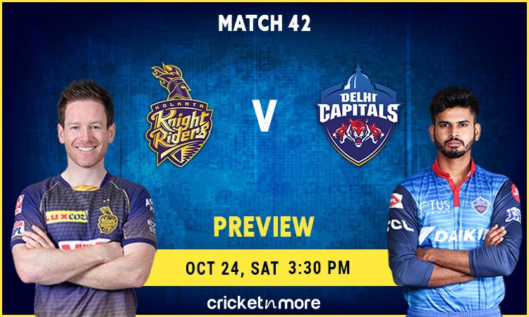 Kolkata Knight Riders vs Delhi Capitals Preview and Probable XI