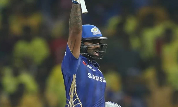 MI batsman Suryakumar Yadav reacts after being left out for India squad for Australia tour in hindi