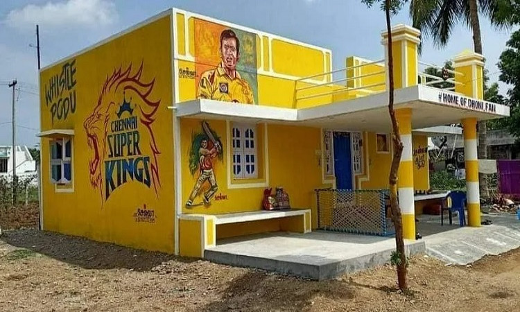 Home of Dhoni Fan