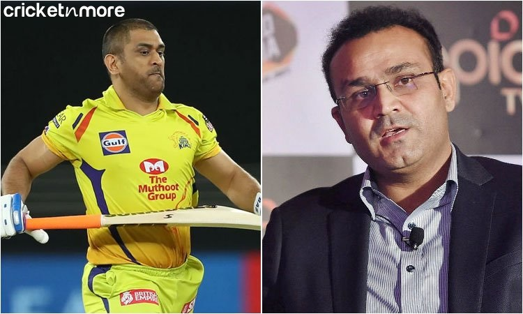 Sehwag and MS Dhoni