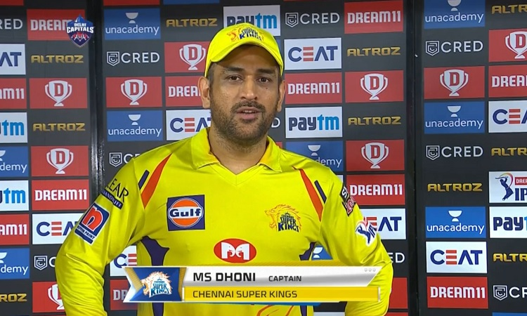 This was one of the perfect games says CSK captain MS Dhoni