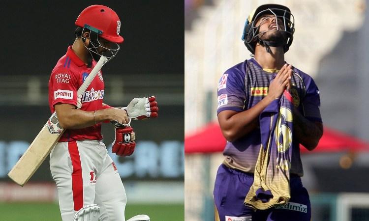 Mandeep Singh and Nitish Rana