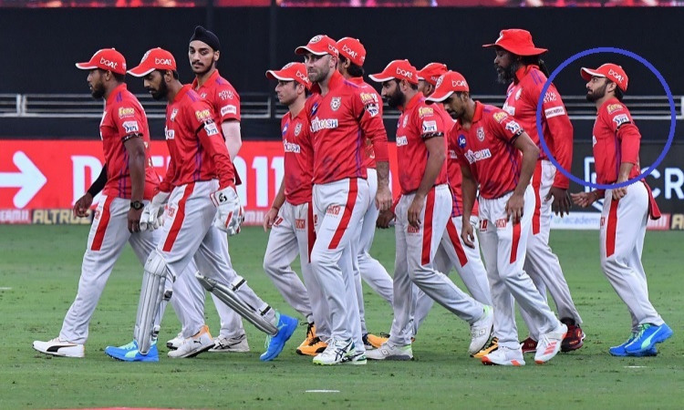 Kings XI Punjab players' touching tribute to Mandeep Singh late father