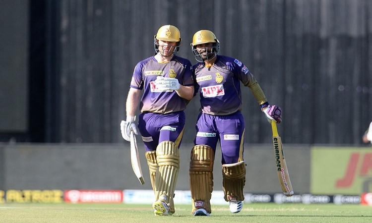 IPL 2020: Morgan, Karthik take KKR to 163/5