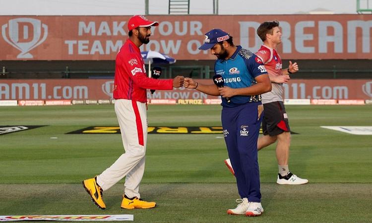 IPL 2020, Toss - Mumbai Indians v Kings XI Punjab