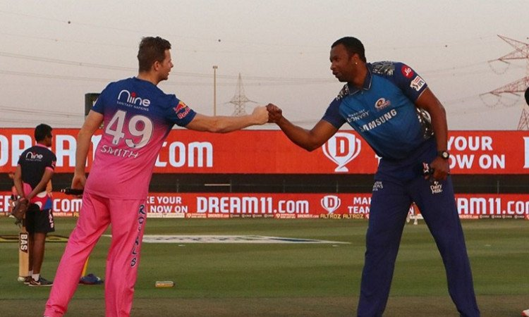 Rajasthan Royals opt to bat first against Mumbai Indians