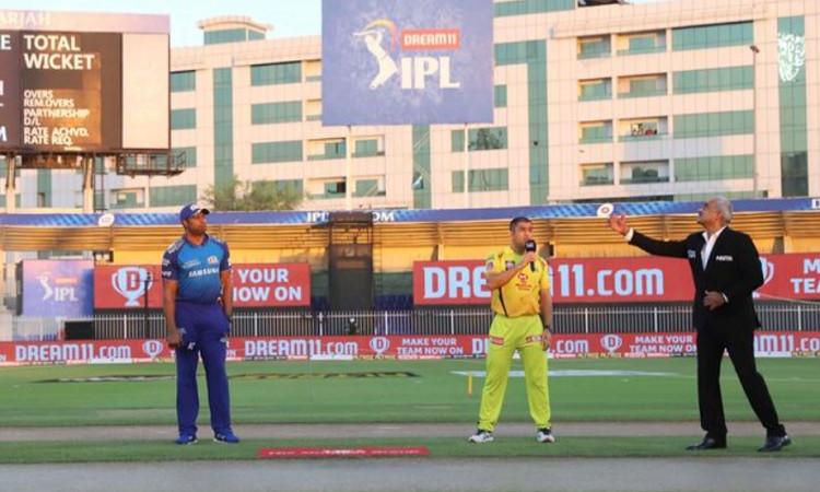 Mumbai Indians skipper kieron pollard opt to bowl first against Chennai super kings