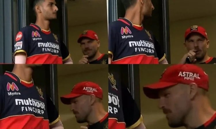 IPL 2020: RCB Opener Finch Spotted Vaping During Match Against RR