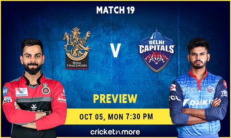 IPL 2020 Royal Challengers Bangalore vs Delhi Capitals Preview