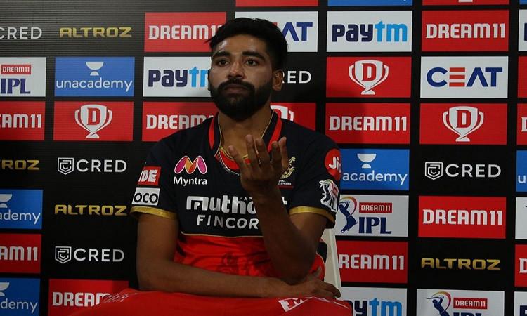 RCB vs KKR: It Was A Magical Performance, Says Siraj