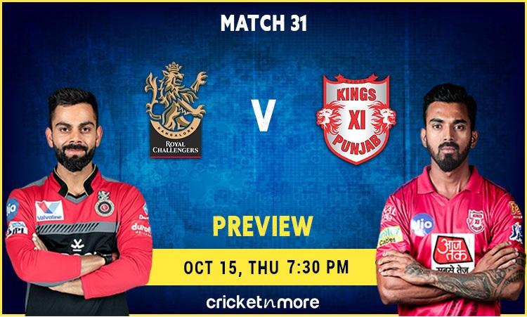 Kings XI Punjab VS RCB