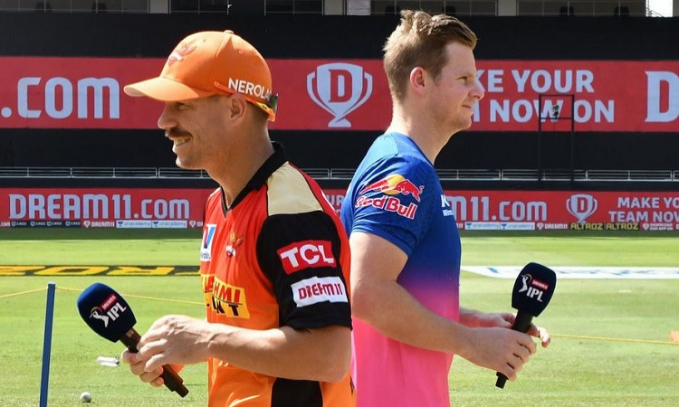 Sunriser Hyderabad opt to bowl first against rajasthan royals