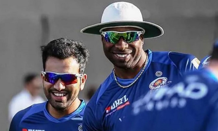 Rohit Sharma and Kieron Pollard