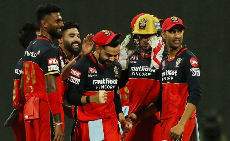 RCB beat KKR by 8 wickets