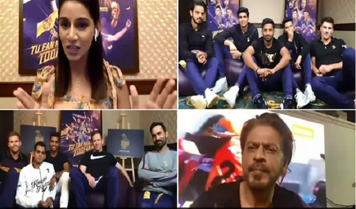 Shahrukh khan asked KKR opener to score 158 runs as Mcculam did for KKR in hindi