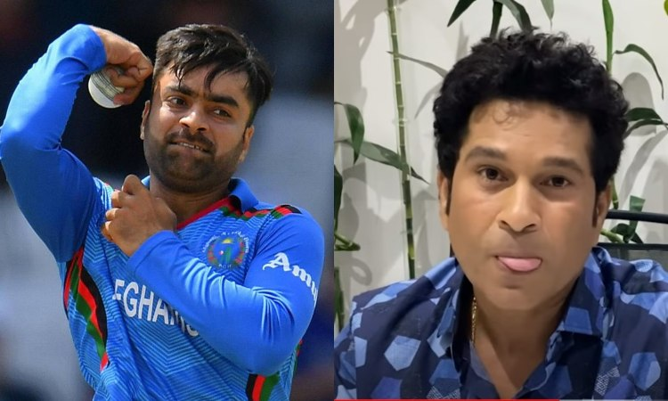 Sachin Tendulkar praised SRH bowler Rashid Khan and called him unpredictable bowler in hindi