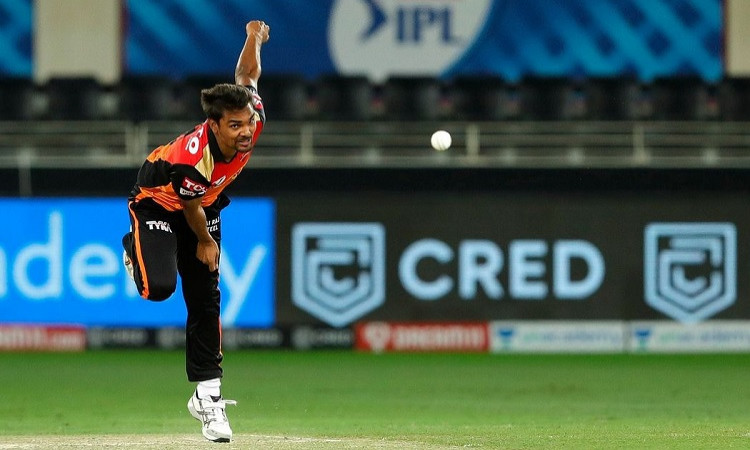 Sunrisers Hyderabad pacer Sandeep Sharma completed 100 wickets in IPL