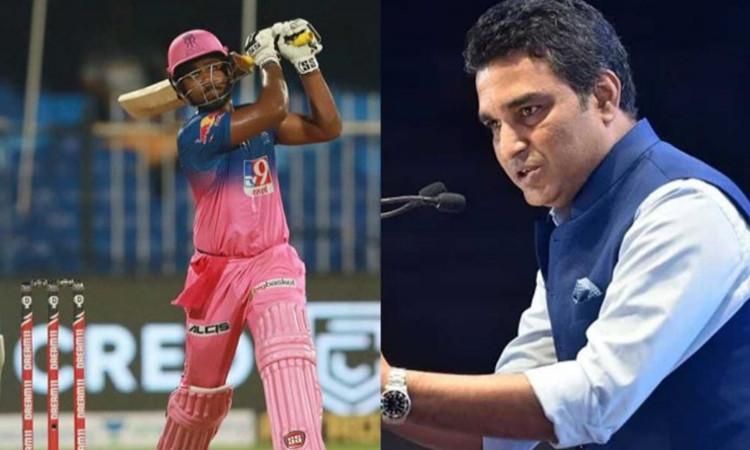 Sanjay Manjrekar and Sanju Samson