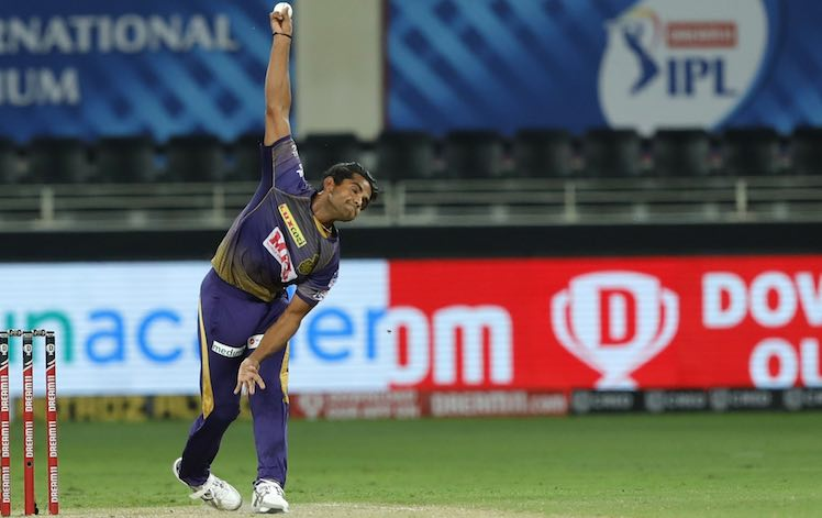 Shivam Mavi (KKR V RR) Images in Hindi
