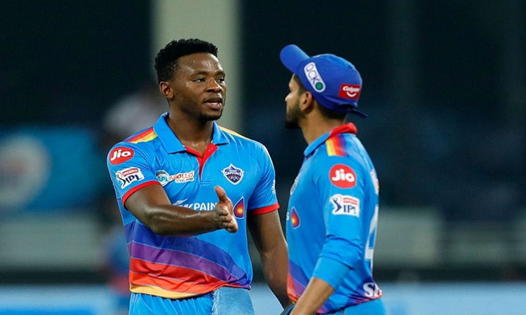 Shreyas Iyer and Kagiso Rabada