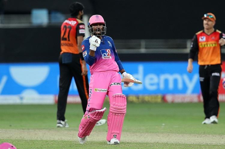 IPL 2020: Tewatia, Parag Steer RR To Five-Wicket Win Over SRH Images