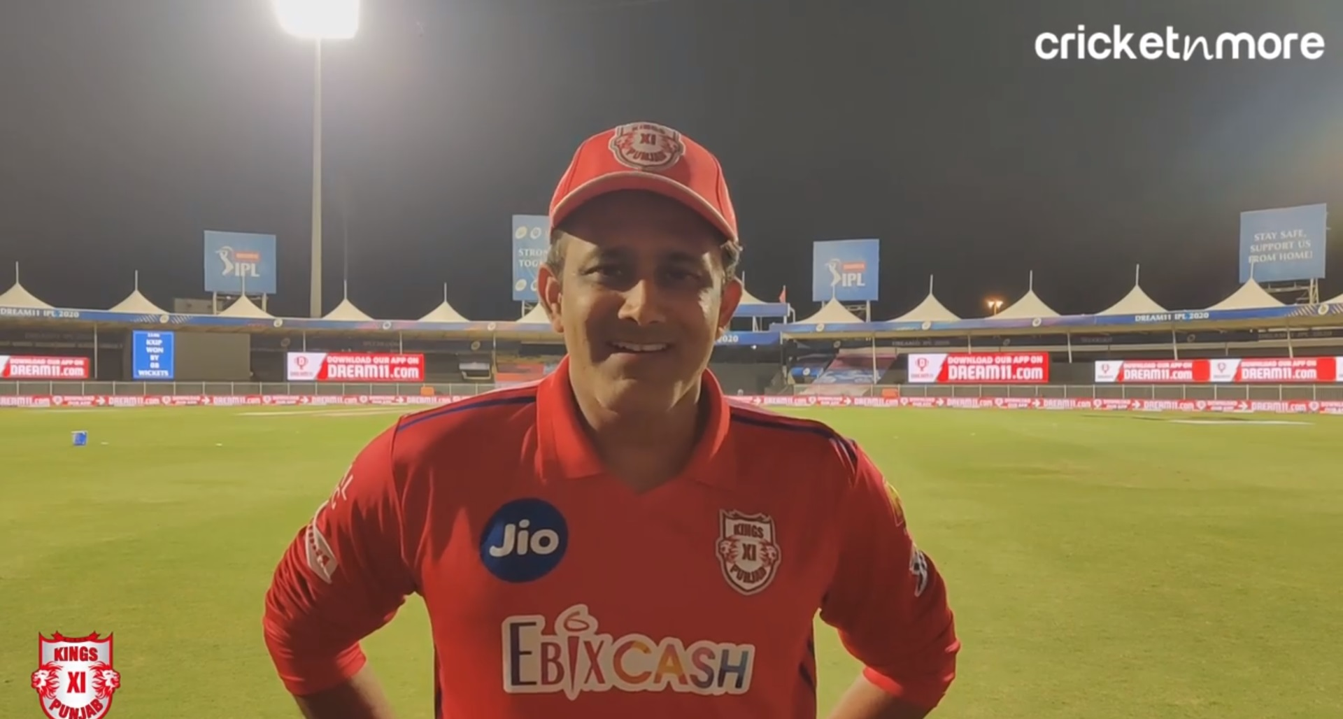 The Turnaround Was Really Important For Us - KXIP Coach Kumble After The Win Against RCB