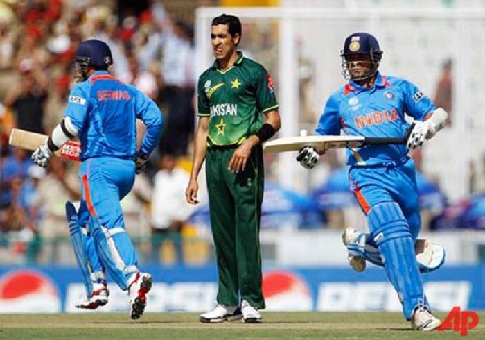Umar Gul against India