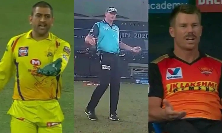 IPL 2020: Umpire Changes Mind After Dhoni's Angry Gesture Against SRH