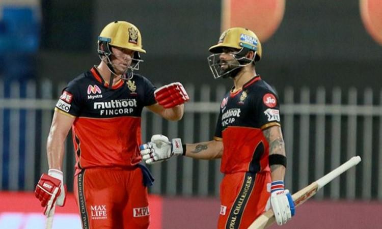 Virat Kohli and AB de Villiers 1