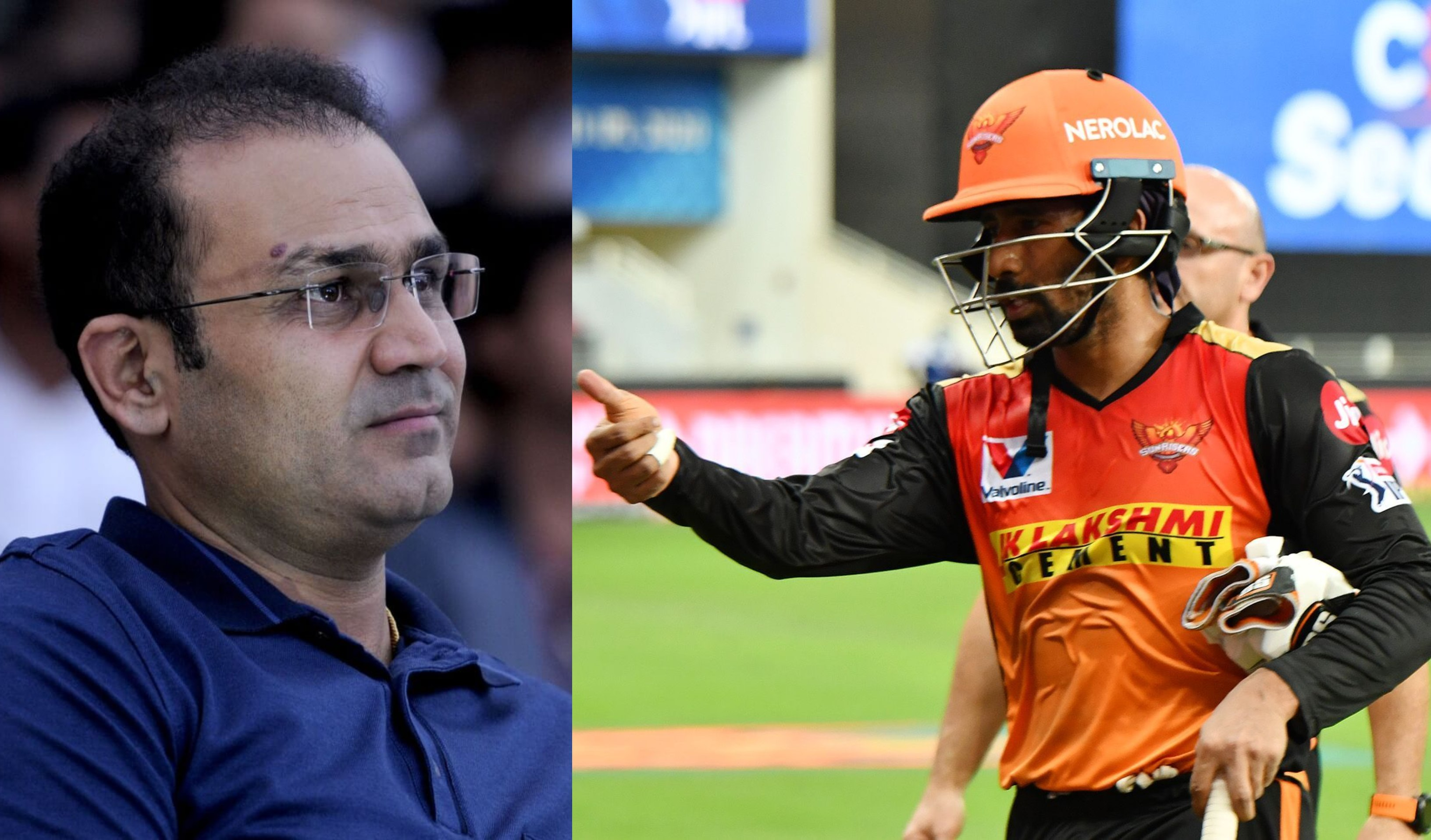 Virender Sehwag says srh batsman Wriddhiman Saha is not considered dangerous batsman due to his repu