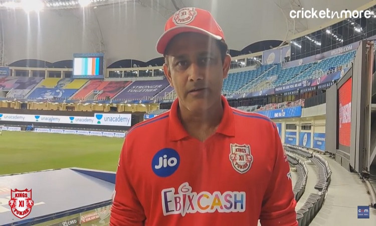 KXIP vs MI: We Fought Every Ball Every Inch: Kumble