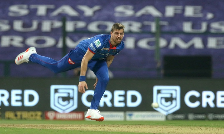 Didn't know I'd bowled the fastest ball in IPL says Anrich Nortje