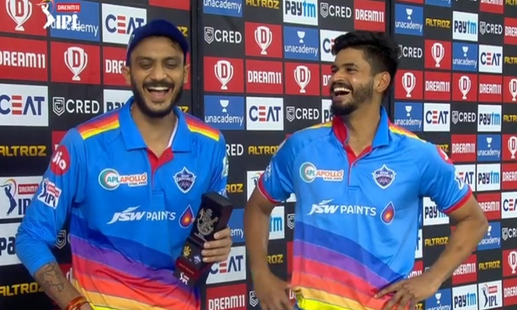 Axar Patel and shreyas iyer