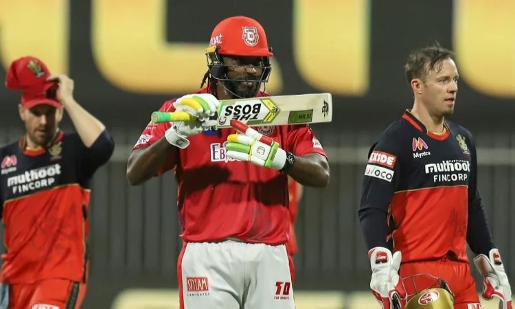 chris gayle becomes first batsman to score 10000 runs in t20 cricket with four and sixes in punjabi
