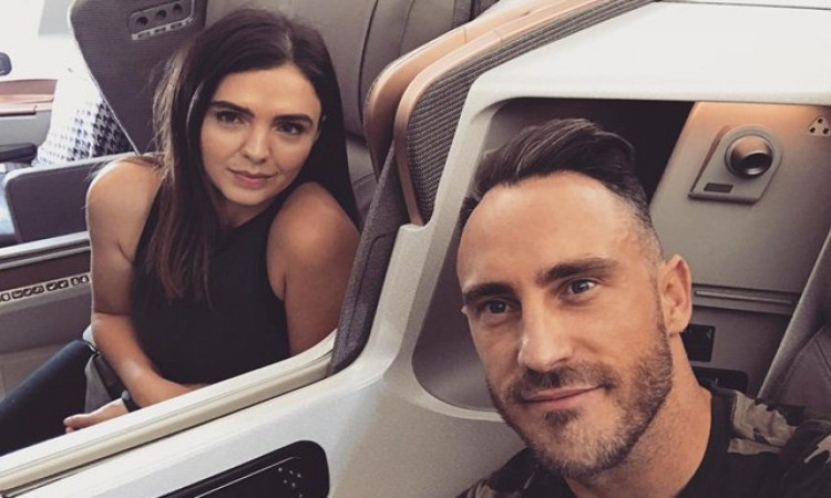 csk batsman Faf du Plessis wife Imari Du Plessis convey a special message to her husband in hindi